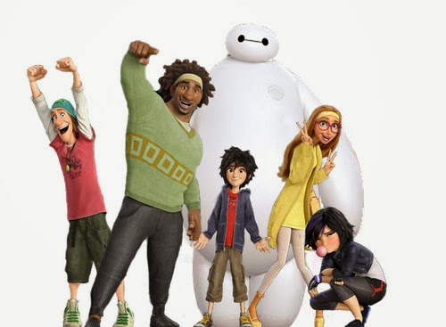 big hero 6 animacion clasicos disney seis grandes heroes personajes nuevo trailer characters baymax hiro hamada honey lemon fred zilla gogo 2014 2015