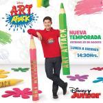 Conoce a Germán Otero el nuevo conductor de Art Attack