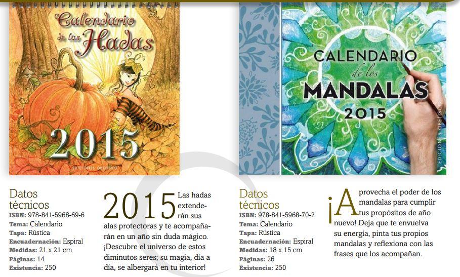 calendario hadas