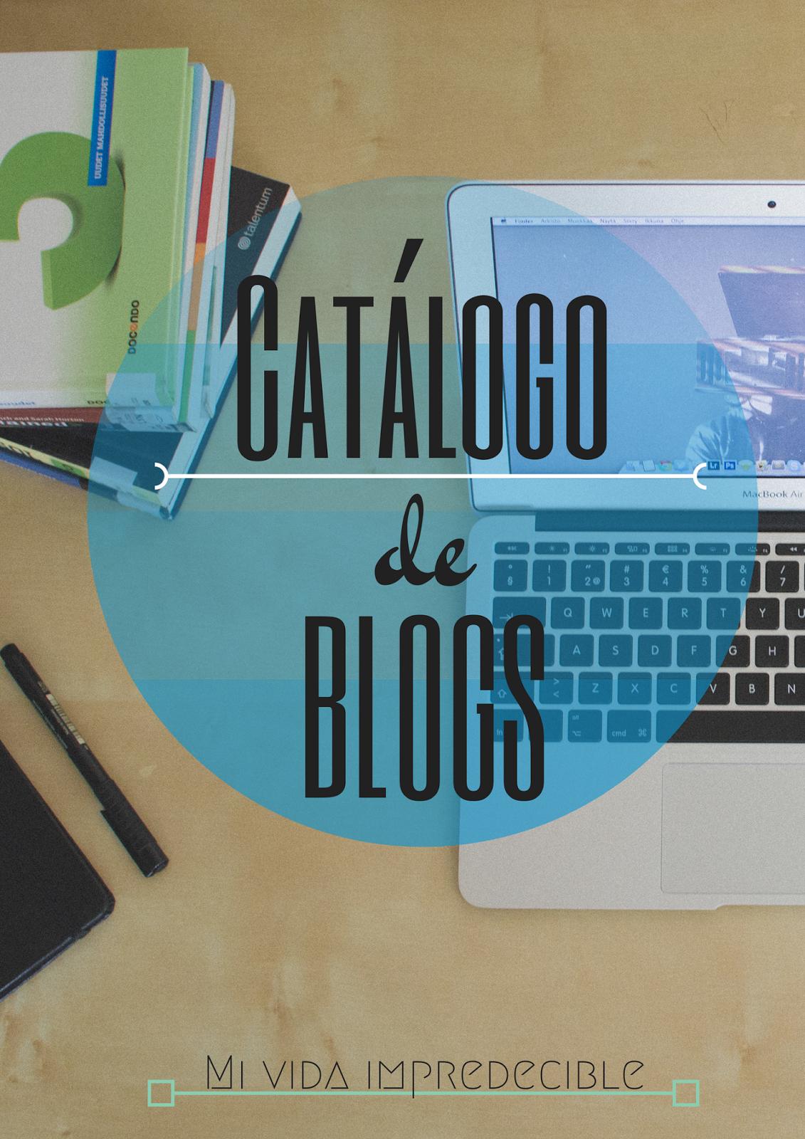 Catálogo de blogs.