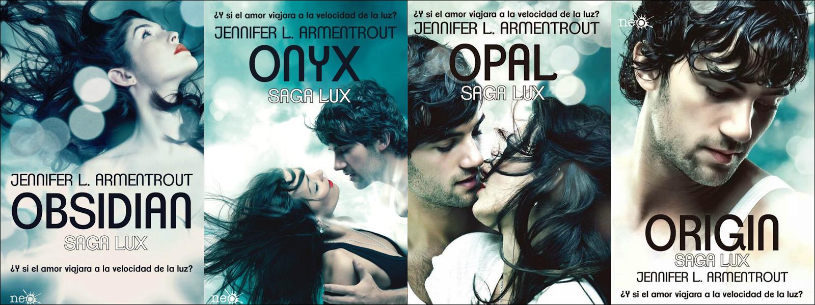 portadas saga lux en español