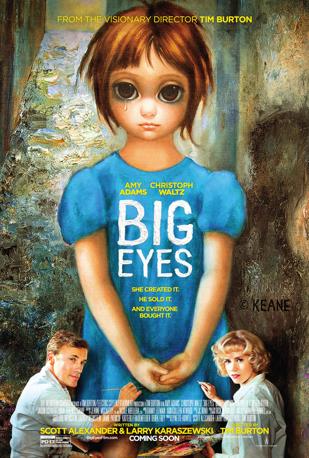 big eyes, ojos grandes