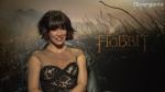 Entrevistas con Evangeline Lilly y Luke Evans, cast de El Hobbit