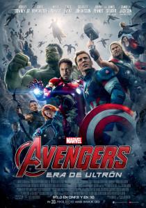 poster oficial avengers era de ultrón