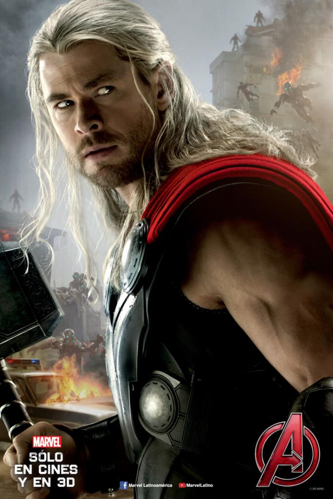 Thor poster era de ultrón