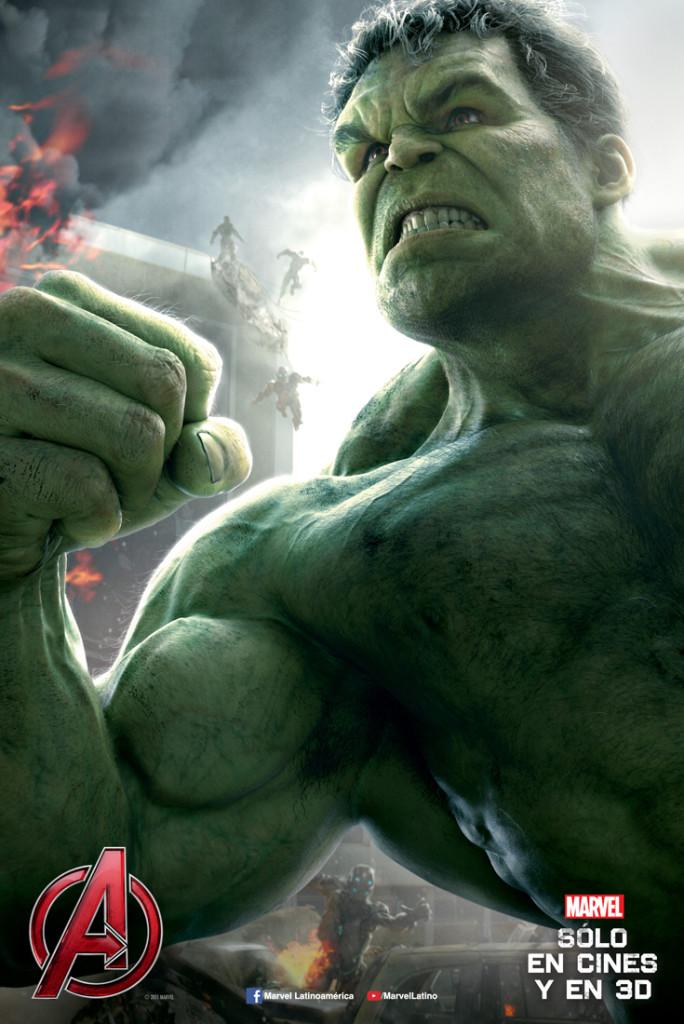 Hulk poster era de ultrón