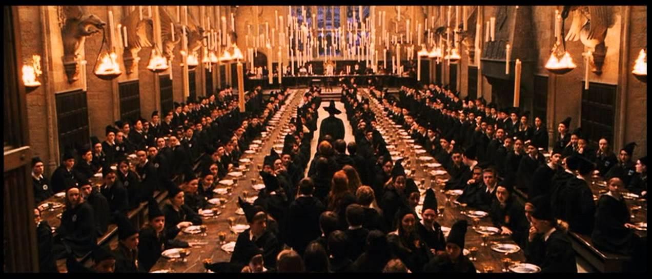 el comedor de hogwarts abrir sus puertas esta navidad
