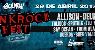 Punk Rock Fest 2017 Banner