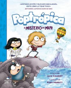 Poptropica; el misterio del mapa; Kory Merritt; Jack Chabert