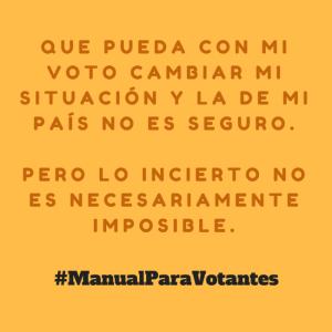 #ManualParaVotantes