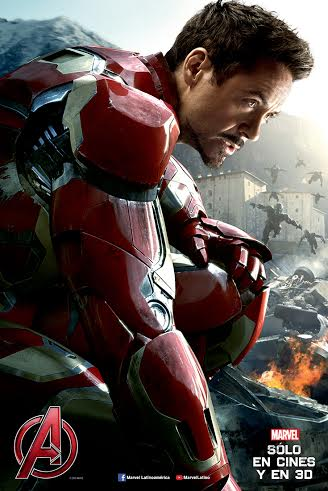 iron man poster era de ultron